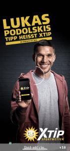 XTiP Lukas Podolski