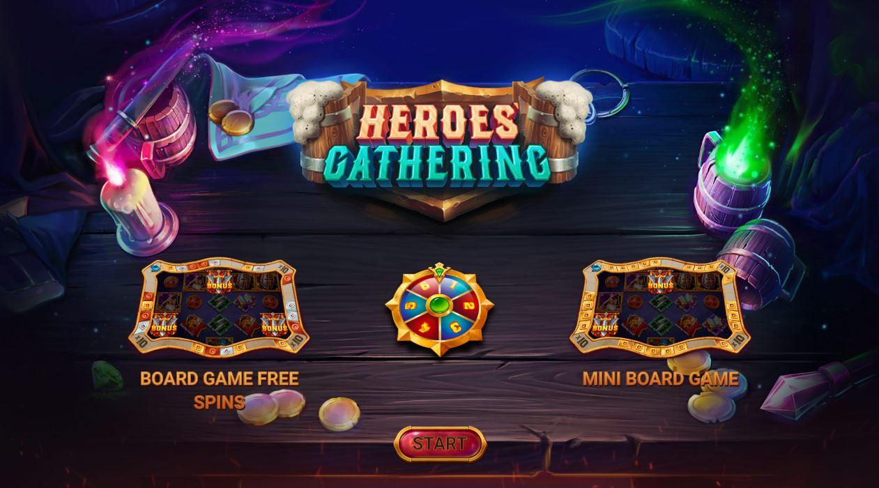 Heroes' Gathering – Ein brandneuer Slot