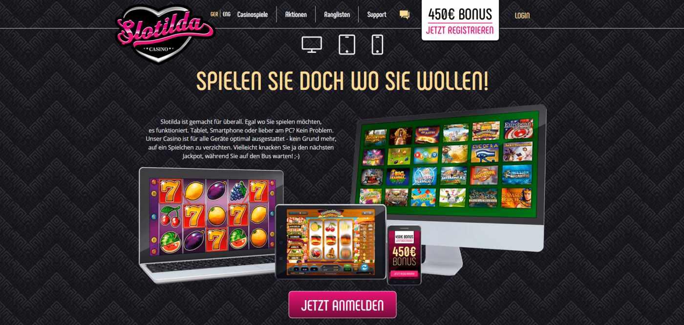 slotilda Casino mobile app